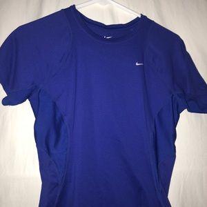 Nike Tops - Dri-fit Nike purple tee